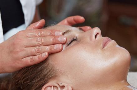 Massage du tête et visage 25'