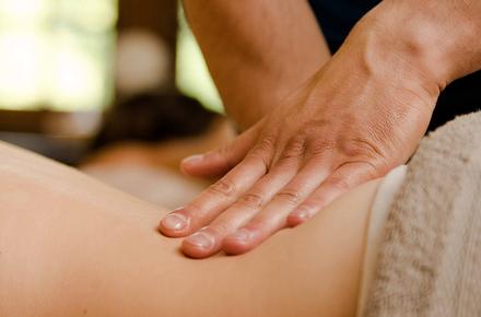 Early Bird : Back massage