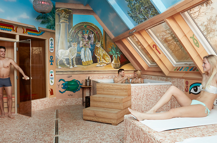 Private sauna Cleopatra (2H/4P)