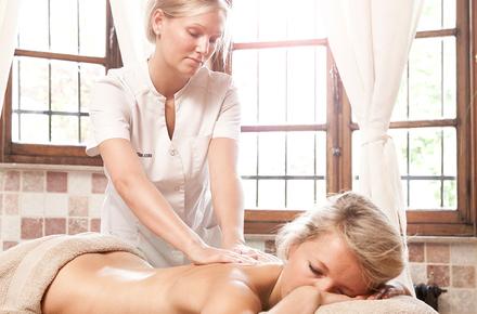 Promo: free massage with private sauna
